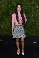Zoë Kravitz wears Chanel - 2015 Tribeca Film Festival Chanel Artists Dinner