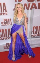 Laura Bell Bundy attends the 45th annual CMA Awards at the Bridgestone Arena on November 9, 2011 in Nashville, Tennessee