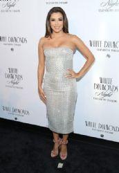 Eva Longoria: Elizabeth Taylor White Diamonds 25th Anniversary Celebration