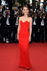 "Natalie Portman: attended the Cannes Film Festival premiere of ""La Tete Haute"""