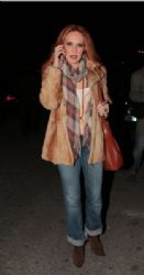 Evelina Papoulia: ANT1 Christmas party