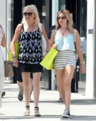 Ashley Tisdale: out and about in Beverly Hills