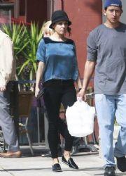 Mila Kunis: stops by Go Greek Yogurt in Beverly Hills