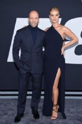 Jason Statham and Rosie Huntington-Whiteley : 'The Fate of the Furious' New York Premiere