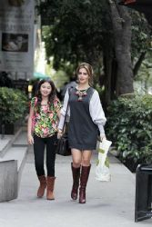 Claudia Álvarez: shopping time