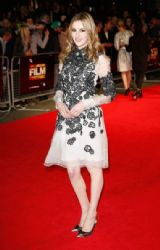 Laura Carmichael wears Erdem - 'Madame Bovary' Premiere in London