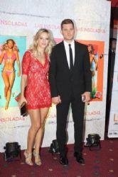Luisana Lopilato and Michael Bublé: movie premiere
