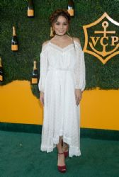 Vanessa Hudgens attends the Seventh Annual Veuve Clicquot Polo Classic, Los Angeles