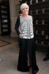 Pink wears Giorgio Armani - Giorgio Armani fall 2014 Couture front row