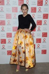 Leelee Sobieski: attended Sidaction Gala Dinner 2013 in Paris