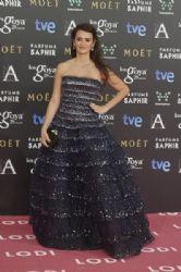 Penélope Cruz: Goya Cinema Awards 2015 - Red Carpet