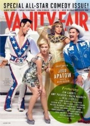 Jim Carrey, Maya Rudolph, Will Ferrell and Amy Poehler: featured on the cover of Vanity Fair's January 2013 issue