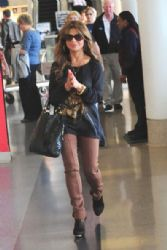 Paula Abdul in LAX