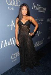 Toni Braxton arrives at The Hollywood Reporter's