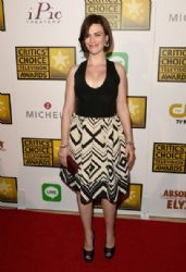 Maggie Siff: Arrivals at the Critics' Choice Television Awards