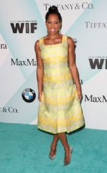 Regina King wears John Paul Ataker - Women In Film 2015 Crystal & Lucy Awards