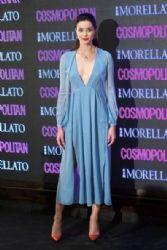 Dafne Fernandes wears Burberry Prorsum - Cosmopolitan Beauty Awards In Madrid