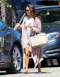 Eva Longoria: gets her hair done at the Ken Paves salon in West Hollywood
