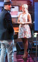 Katherine Jenkins: at ABC Studios in New York City