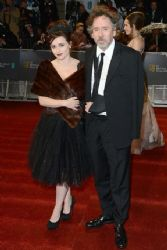 Tim Burton and Helena Bonham Carter: 2013 Orange British Academy Film Awards (BAFTA) took place in Londo