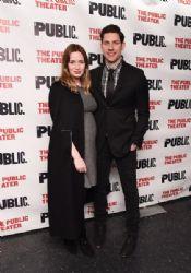 "Emily Blunt and John Krasinski at the ""Dry Powder"" Opening Night"