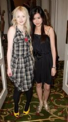 Evanna Lynch and Katie Leung