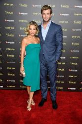 Elsa Pataky and Chris Hemsworth: 2015 G'Day USA Gala Featuring The AACTA International Awards Presented By QANTAS - Arrivals