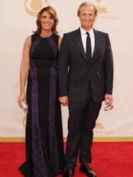 Jeff Daniels and Beata Pozniak: Primetime Emmy Awards 2013