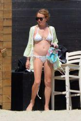 Lindsay Lohan: Mykonos, Greece 8/31/2016