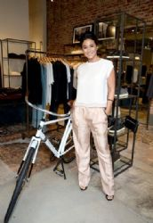 Emmanuelle Chriqui: attends the Rag & Bone Sole Bicycle event at Rag & Bone in Venice