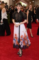 Lily Collins wears Chanel - 2015 Met Gala