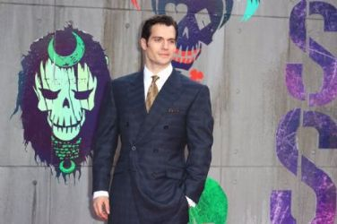 Henry Cavill wears Alfred Dunhill Bespoke to the SuicideSquad Premiere in London last night