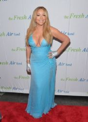Mariah Carey wears Versace - 2014 Fresh Air Fund Honoring Our American Hero