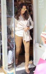 Eva Longoria Shops in Madrid