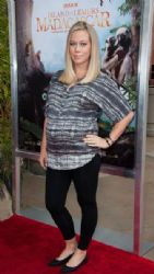 Kendra Wilkinson attends the Premiere Of Warner Bros. Pictures And IMAX Entertainment's