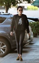 Kristen Stewart Out and About in Loz Feliz  (January 26, 2017)