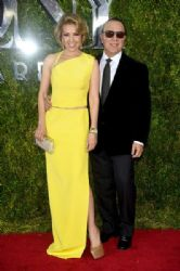 Thalía and Tommy Mottola: 2015 Tony Awards