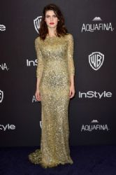 Alexandra Daddario: 2016 InStyle and Warner Bros. 73rd Annual Golden Globe Awards Post-Party - Arrivals