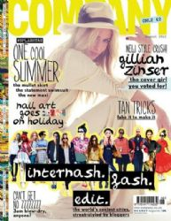 Gillian Zinser: August 2012 issue of Company magazine