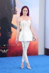 Caity Lotz at Wonder Woman Premiere in Los Angeles 05/25/2017