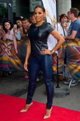 Mel B. wears Helmut Lang - The X Factor London Auditions