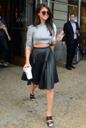 Selena Gomez Stops by Starbucks in NYC