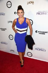 Actress Eva Longoria attends the screening of GKIDS'