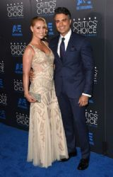 Jaime Camil and Heidi Balvanera: 5th Annual Critics' Choice Television Awards 2015