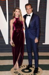 Arielle Vandenberg and Will Arnett: 2015 Vanity Fair Oscar Party