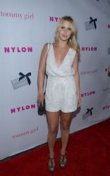 Claire Holt: NYLON Magazine held their annual May Young Hollywood Issue party