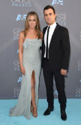 Justin Theroux and Jennifer Aniston: The 21st Annual Critics' Choice Awards