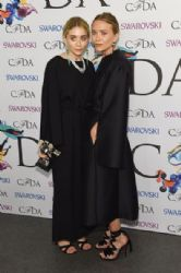 Mary Kate & Ashley Olsen wears The Row - 2014 CFDA Fashion Awards