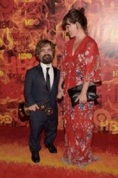 Peter Dinklage and Erica Schmidt : HBO's 2015 Emmy After Party
