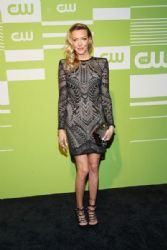 Katie Cassidy: attends The CW Network's New York 2015 Upfront Presentation at The London Hotel